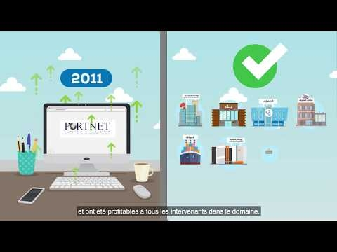 Embedded thumbnail for  PORTNET- Votre compétitivité nous inspire (version arabe)