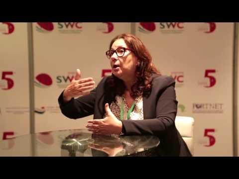 Embedded thumbnail for SWC2016-Interview avec Mme Nadia Laraki, Directrice Générale de l'Agence Nationale des Ports (ANP)